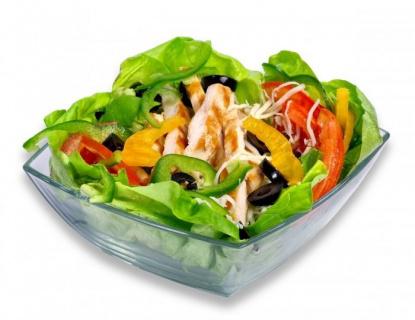 Salata cu piept pui
